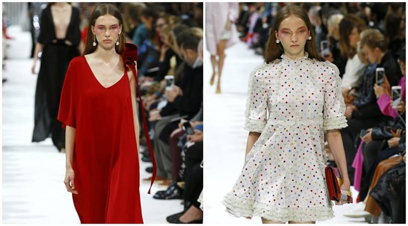 paris fashion week, paris fashion week 2017, chanel, hermes, elie saab, miu miu, stella mccartney, john galliano, givenchy, alexander mcqueen, valentino, manish arora, Maison Margiela, Saint Laurent, designers, designs by indian designer, trends 2017, Indian express, Indian express news