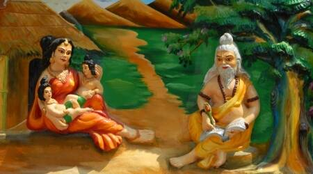 Valmiki Jyanti Day, Valmiki Jyanti Day 2017, when is valmiki jyanti, writer of Ramayana, who was Maharishi Valmiki, Indian express, Indian express news