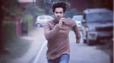 October: Varun Dhawan shares his intense first look, reveals the release date. See photo