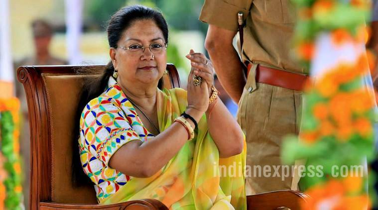 rajasthan ordinance, vasundhara raje, govt servants investigation, criminal law rajasthan amendment ordinance 2017, corruption investigation, freedom of speech, indian express