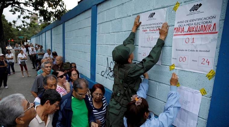 Venezuela, Venezuela polls, elections in venezuela, venezuela elections, South america news, world news, indian express