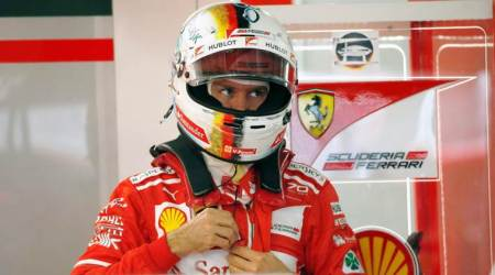 Sebastian Vettel clocks fastest lap in practice for Japanese Grand Prix