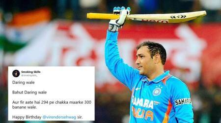 Happy Birthday, Virender Sehwag: Twitterati wish the 'Sultan of Multan' in typical Viru-style
