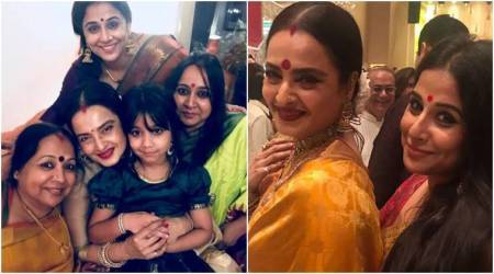 Vidya Balan picture perfect moment with Rekha is the sweetest birthday wish