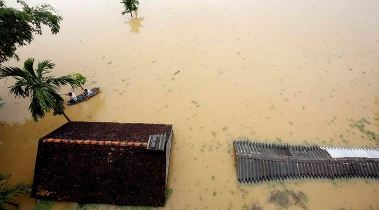 Vietnam, Vietnam floods, Vietnam landslide, Vietnam disaster, Vietnam flood death toll, Vietnam news, indian express news