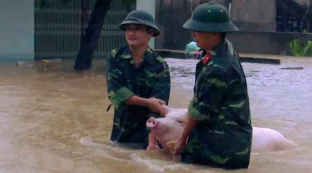Floods and landslides kill 43, leave 34 missing inVietnam