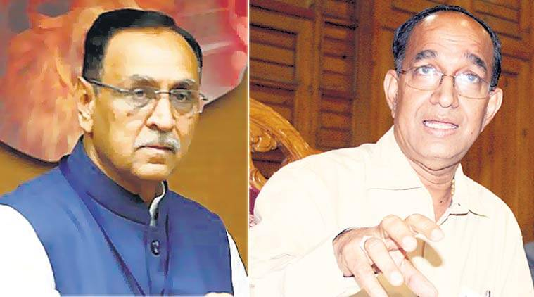 gujarat election, vijay rupani, bjp, congress, himachal pradesh election, election commission, gujarat election schedule, gujarat polls, VS Sampath, latest news, indian express,
