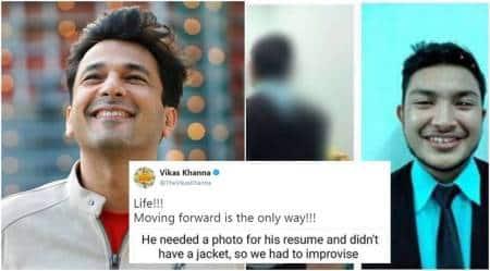 vikas khanna, vikas khanna twitter, vikas khanna positive posts, twitter reacts to vikas khanna's post, Indian express, Indian express news