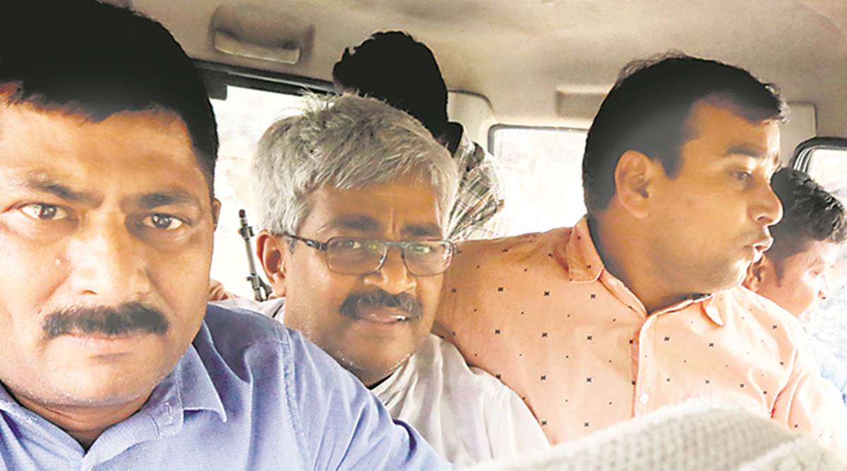 vinod verma, journalist vinod verma arrested, vinod verma sex CD, Chhattisgarh police, Chhattisgarh journalist arrested, BJP, Rajesh Munat, Vinod Verma extortion case, indian express