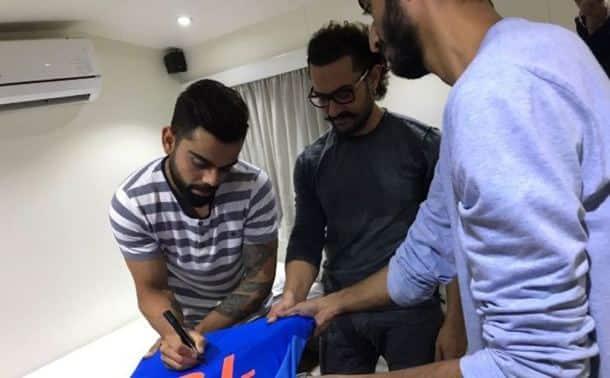 Virat Kohli, Anushka Sharma, Aamir Khan, Virat Anushka, sports gallery, cricket, Indian Express
