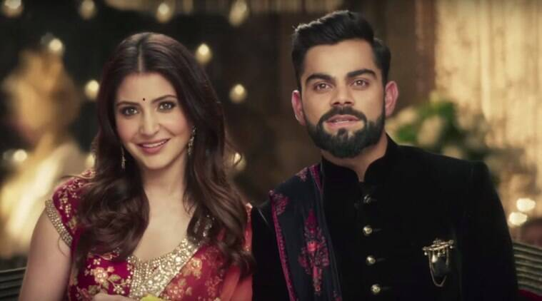 Virat Kohli And Anushka Sharma Seems All Lovey-Dovey In This TVC