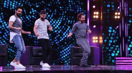 Virat Kohli does bhangra with Aamir Khan on chat show, watch video