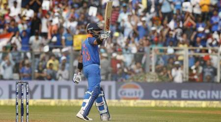India vs New Zealand Live Cricket Score, 1st ODI in Mumbai: India post 280/8 against New Zealand