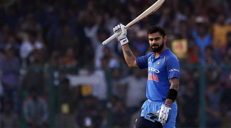 Virat Kohli, Virat Kohli hundred, Virat Kohli ton, Virat Kohli runs, India vs New Zealand, New Zealand tour of India 2017, sports news, cricket, Indian Express