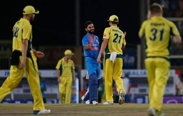 India take 1-0 lead as Australia slip in rainy Ranchi