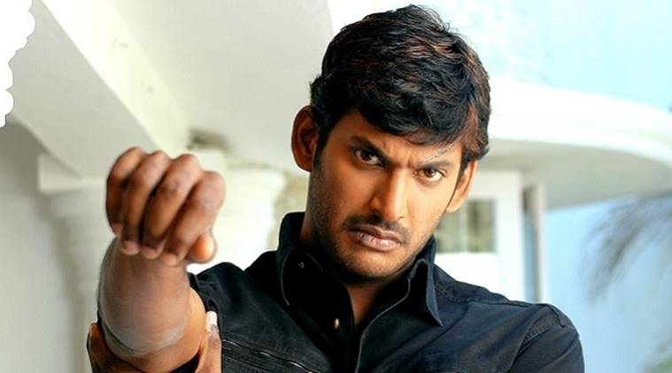 vishal it raid, mersal, mersal controversy, actor vishal, bjp, income tx, it dept, tamil nadu bjp, h raja, gst reference in tamil movie, indian express