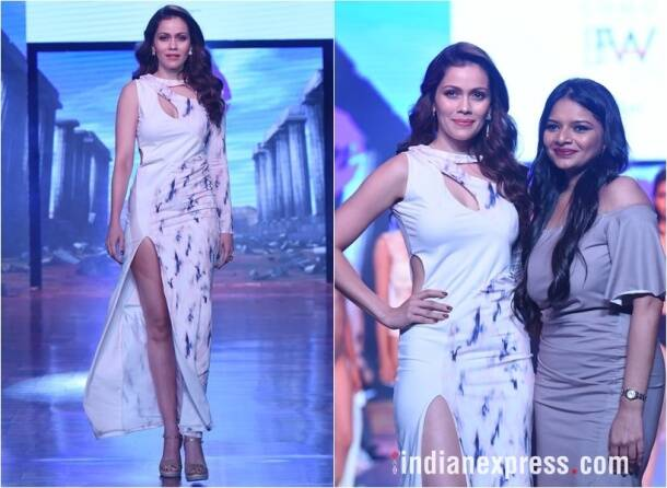 India beach fashion week photos, ibfw 2017 images, ibfw goa 2017 pics, esha gupta pics, rocky s, gauhar khan pictures, kiara advani, vikram padhnis, ibfw 2017 photos, ibfw celebs, fashion news, lifestyle news, indian express