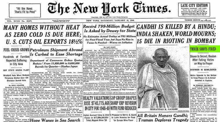 Research paper on gandhi