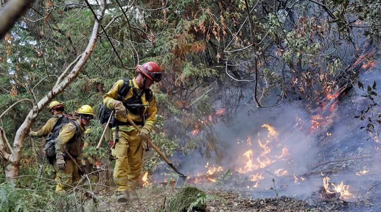 Wildfire, California wildfire, california fire, damages from wildfire, wildfire damages, indian express, world news,