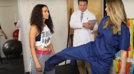 VIDEO: Women tried getting KICKED in the BALLS to feel men's pain
