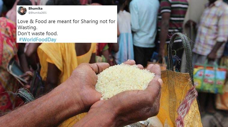 world food day, world food day 2017, world food day theme, world food day on social media, twitter reactions on world food day, indian express, indian express news