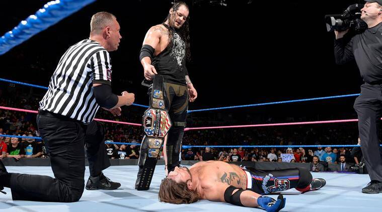 Image result for baron corbin us title