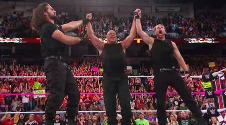 WWE TLC results: Kurt Angle joins forces with Shield, win 3-on-5 handicap TLC match