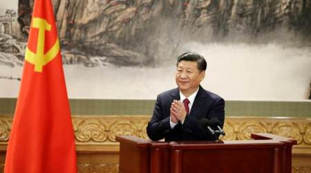 President Xi Jinping secures second term as head of China's ruling Communist Party
