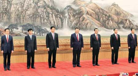 China unveils new leadership line-up with no clear successor to Xi Jinping