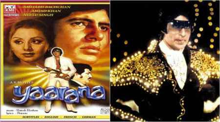 Amitabh Bachchan on 36 years of Yaarana: It still resounds among polity of the nation