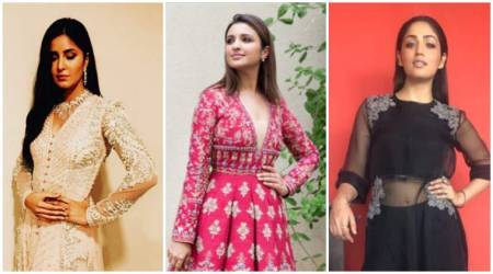 Katrina Kaif, Parineeti Chopra and Yami Gautam's ethnic looks are pure festive fashion goals