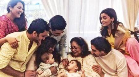 Before Karan Johar, Alia Bhatt introduces his children Yash and Roohi to the world. See photos