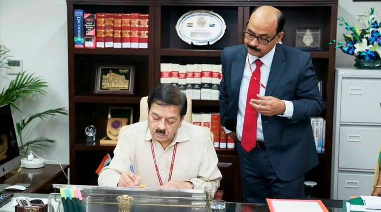 YC Modi takes charge as NIA Director