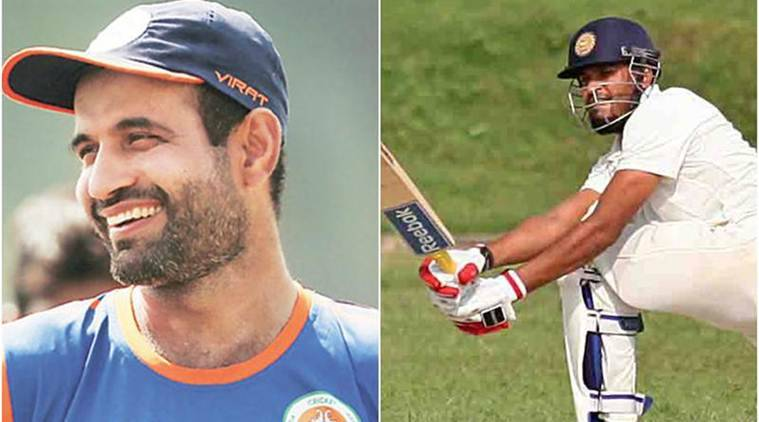 Yusuf Pathan, Irfan Pathan, Yusuf Pathan hundred, Yusuf Pathan twin tons, Yusuf Pathan runs, Ranji Trophy 2017, Baroda vs Madhya Pradesh, sports news, cricket, Indian Express