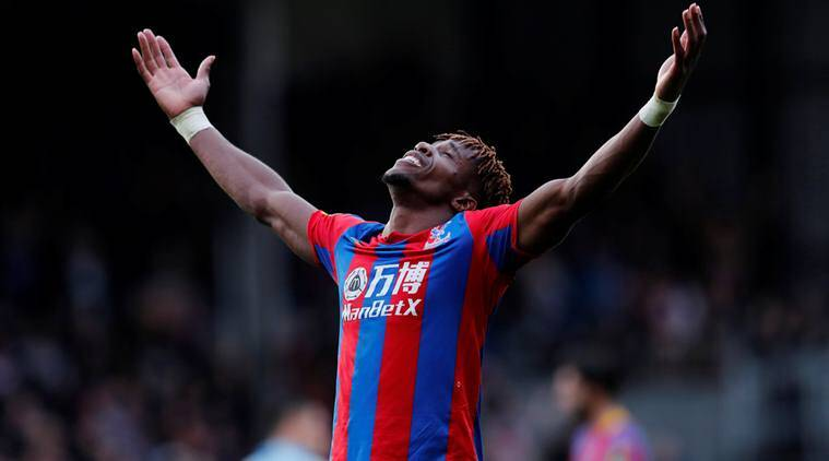 Wilfried Zaha's last-gasp equaliser salvages draw for Crystal Palace against West Ham United
