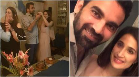 Photos: Zaheer Khan turns 39, to-be-wife Sagarika Ghatge celebrates with a night full of good laughs