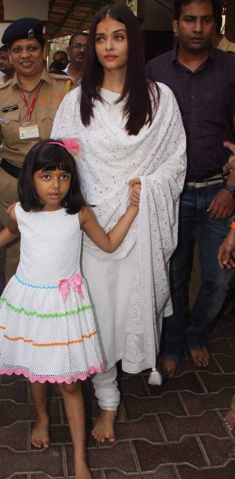 Aishwarya Rai, Aishwarya Rai latest photos, Aishwarya Rai fashion, Aishwarya Rai ethnic fashion, Aishwarya Rai daughter, indian express, indian express news