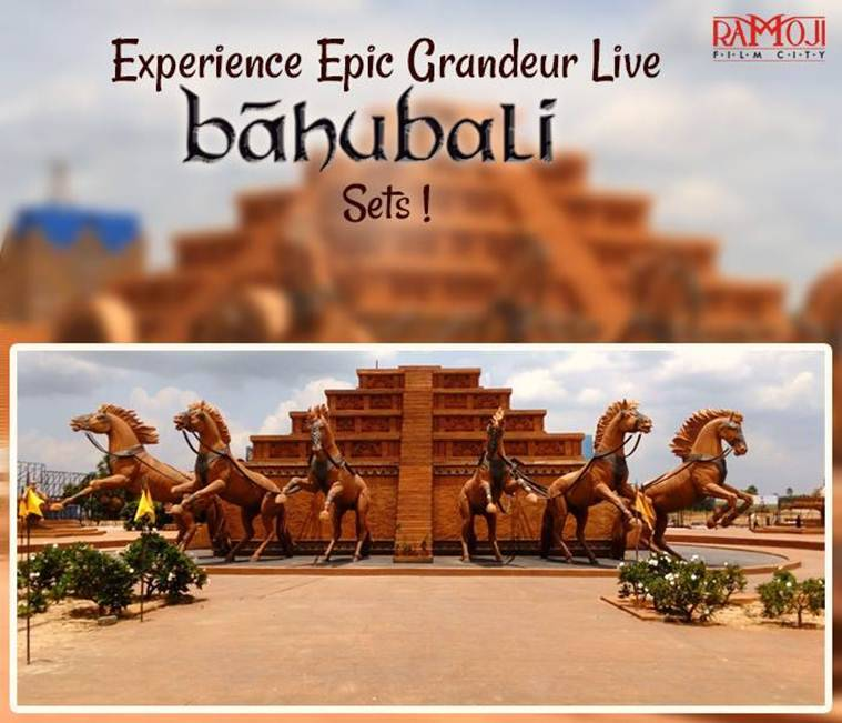 baahubali, baahubali sets, baahubali ramoji film city, ramoji film city