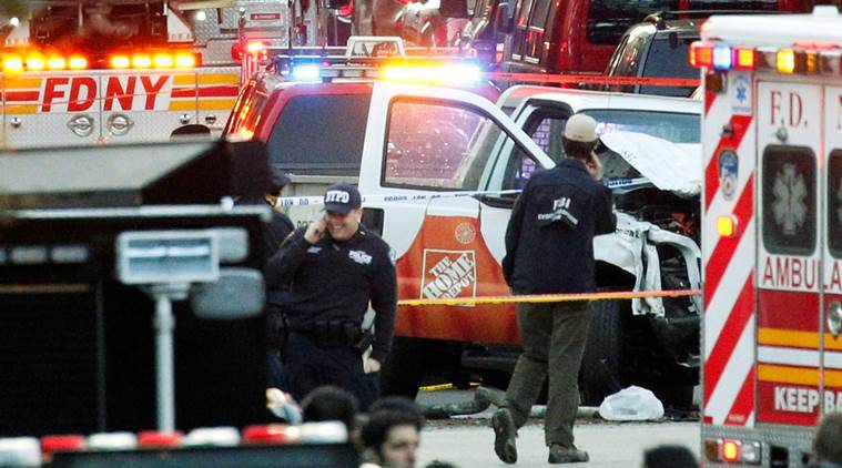 home depot shooting in manhattan with Eight Killed By Driver On Bike Path In Cowardly Act Of Terror In New York 4916565 on 710997 moreover Shooting Home Depot Store New York City Leaves One Dead additionally Least 8 Dead New York City Terror Attack After Truck Careens Down Bike Path 37684 further Multiple Casualties Reported New York Shooting 1645375 besides Home Depot Employee Shot Supervisor Turned Gun Passed Promotion Dumped Girlfriend.