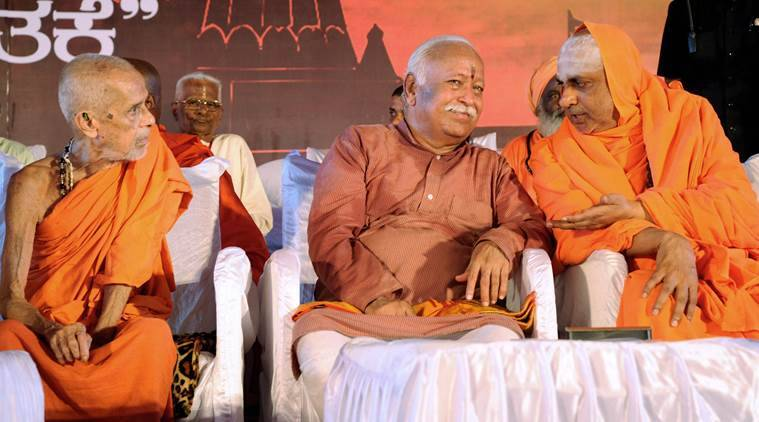 VHP, RSS, Mohan Bhagwat, Hindu leaders in India, Cow priotection, gauraksha, cow slaughter, slaughterhouses, India News, Indian Express