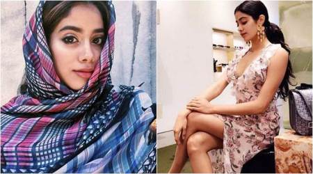 Sridevi's daughter Janhvi Kapoor has all the makings of a Bollywood star. These photos of Dhadak actor are proof