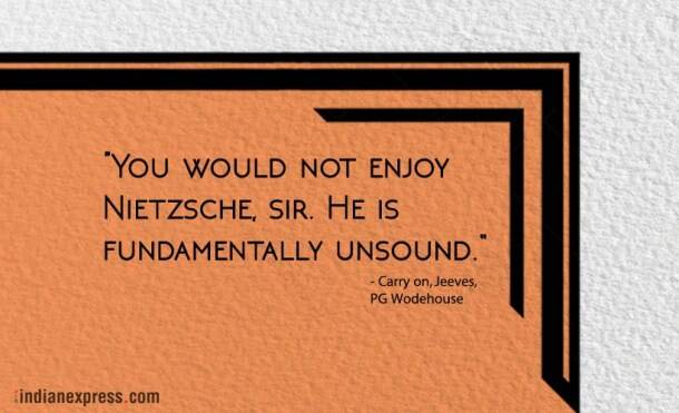 inspirational quotes, funny quotes, quotes by pg wodehouse, funny quotes by pg wodehouse, indian express, indian express news