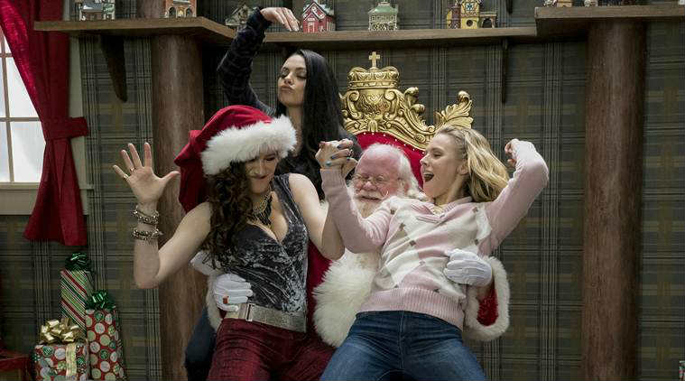 A Bad Moms Christmas movie review, A Bad Moms Christmas review, A Bad Moms Christmas, Mila Kunis, Kristen Bell, A Bad Moms Christmas movie,