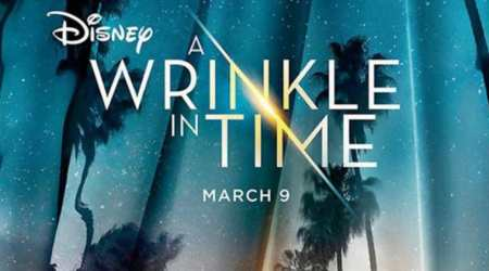 The official poster of Disney's science fantasy adventure film 'A Wrinkle in Time' is out.