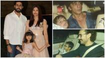 Aaradhya Bachchan's grand birthday was a whole lot of fun for Shah Rukh Khan, AbRam and others. See inside video, photos