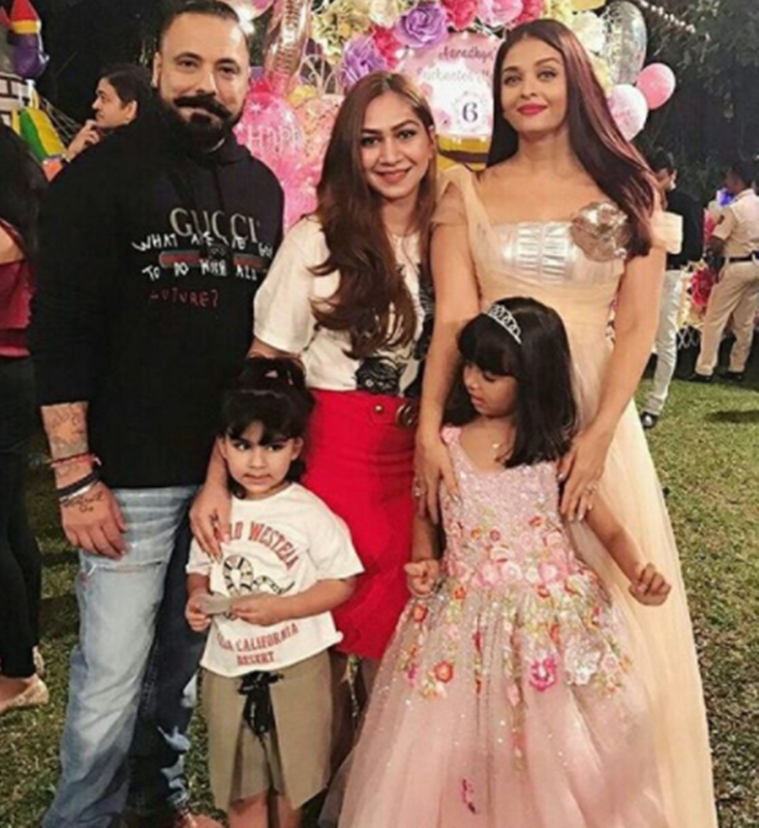 Abram Khan had a blast at Aaradhya's birthday bash!