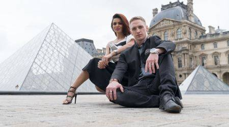 aashka goradia and brent goble have shot a pre-wedding music video called Woh Chilman Se