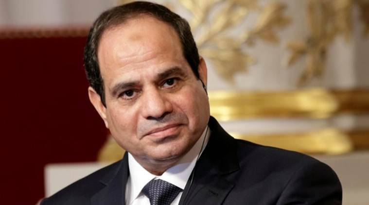 egypt elections, sisi wins egypt elections, sisi reelected, president Abdel Fattah al-Sisi, egypt polls, egypt media, world news, indian express, middle east news