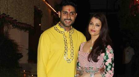 Couple goals: Aishwarya Rai Bachchan and Abhishek Bachchan look adorable together in ethnic wear