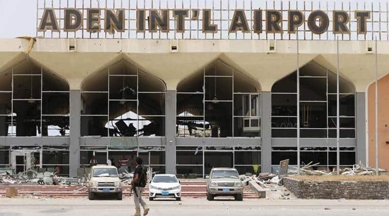 Saudi Arabia, Aden International Airport, Aden Airport, Saudi Airport, World News, Latest World News, Indian Express, Indian Express News
